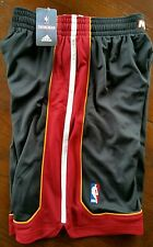 Mens NBA Miami Heat adidas swingman Black shorts Medium Closeout Prices