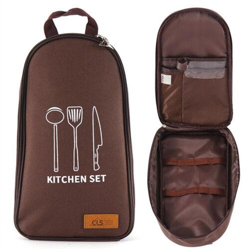 Camping Kochgeschirr Küche Kochutensilien Organizer Portable BBQ