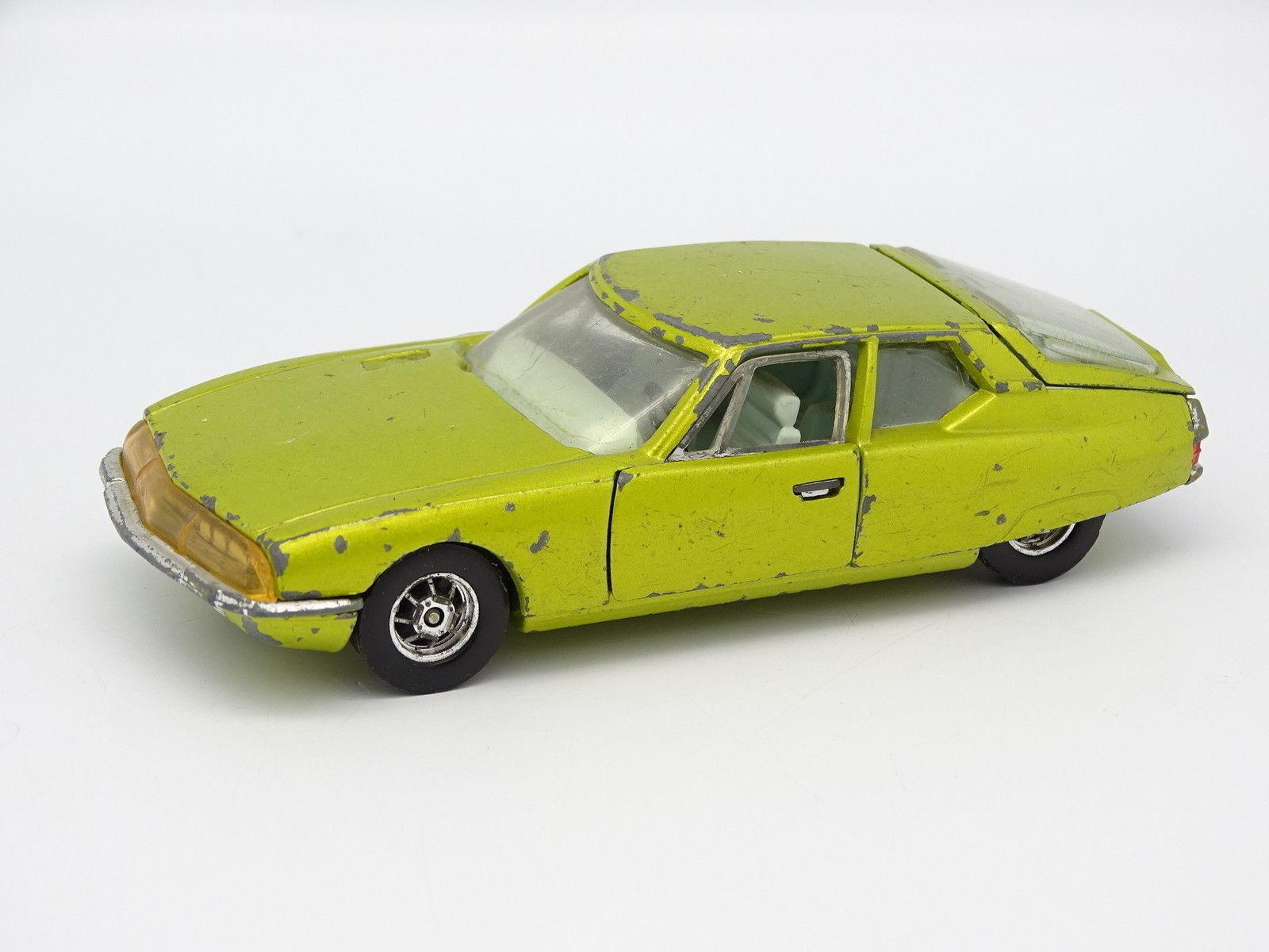 Corgi Toys SB 1 43 - Citroen SM Yellow
