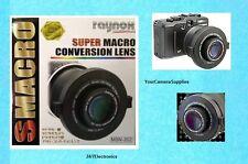 Raynox MSN-202 Super Macro Lens +Snap-On UAC3500 AptTo-> 52mm 58mm 62mm 67mm