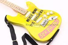 RGM660 Sex Pistols Miniature Guitar