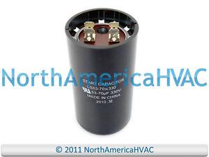 Image Is Loading Motor Start Capacitor 53 70 MFD 330 VAC