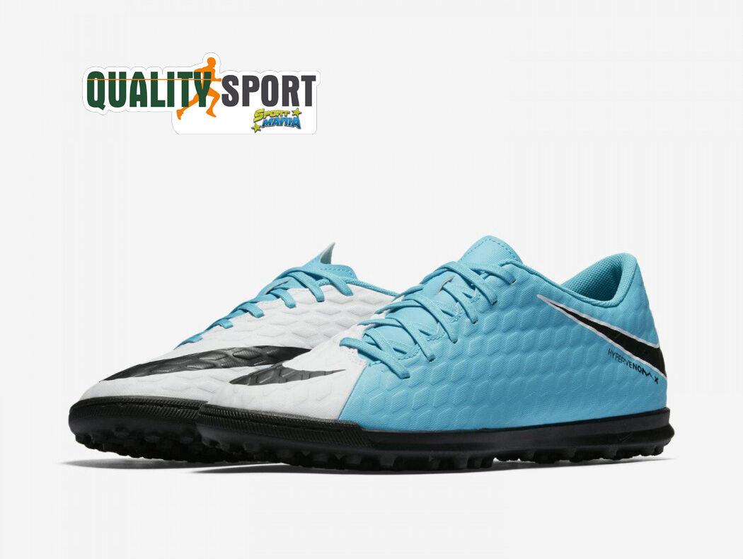 Nike Calcetto Hypervenom Azzurro Bianco hombre  Zapato  Deporteive Calcetto Nike 852545 104 563ceb