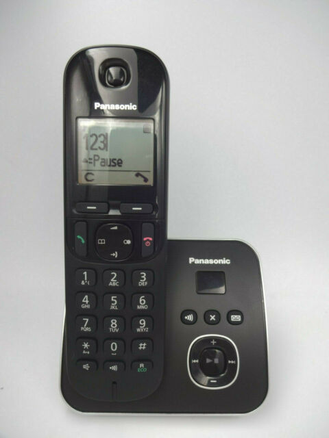 a5d11d166 Panasonic Kxtg6801 Cordless Telephone With Answer Machine Caller ID ...