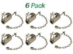 Case of 6 w// Instructions FREE SHIPPING! Details about  /The Egg Trap Dog Proof Raccoon Trap