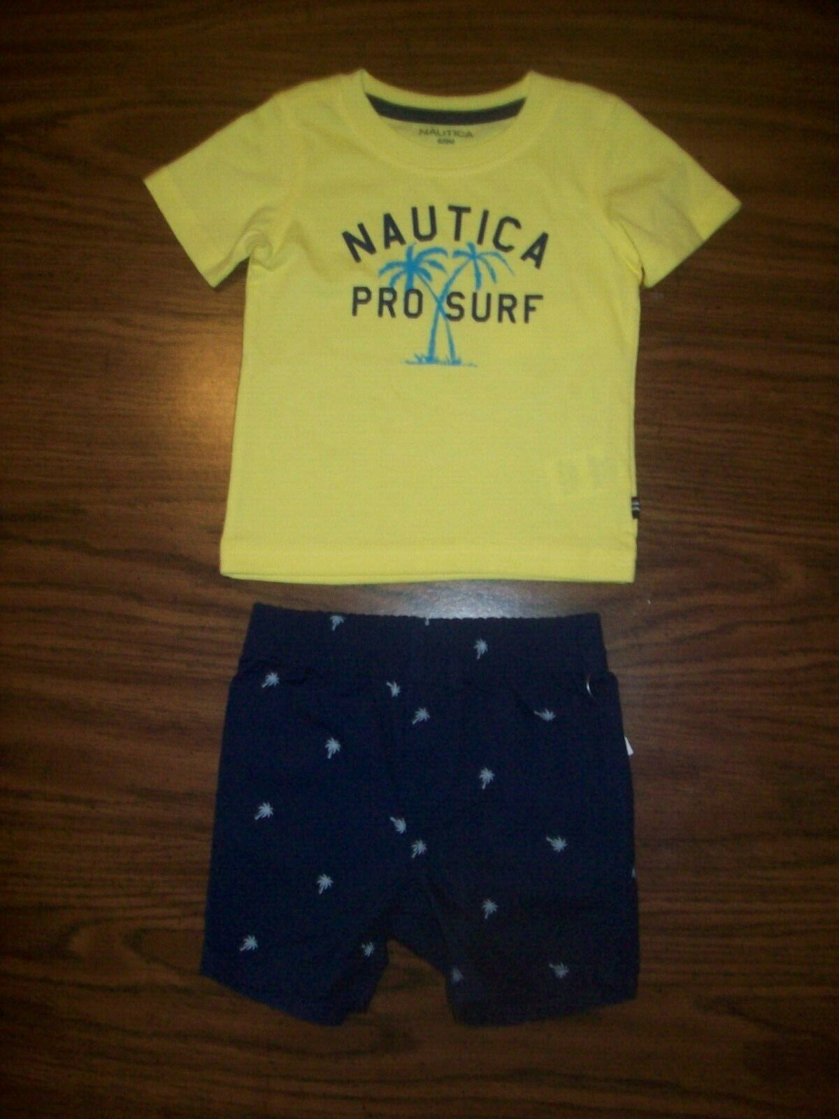 Infant /& Toddler Boys Nautica $42 $48 2pc Polo Shorts Sets Size 12 Months