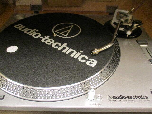 Audio-Technica AT-LP120-USBHC   DJ Plattenspieler Direktantrieb ohne Verpackung!