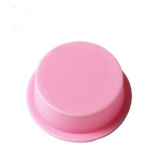 Round Handmade Square Silicone Soap Mold 3DSoap Making Mould Cookie Tools
