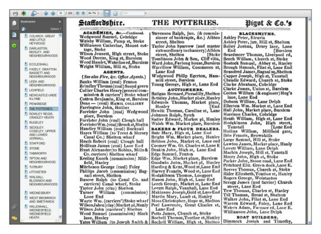 Pigot/'s Directory of Leicestershire /& Rutland 1835 CDROM