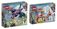 LEGO 41230, 41231 - Superhero Girls: Harley Quinn to the Rescue & Batgirl Batjet