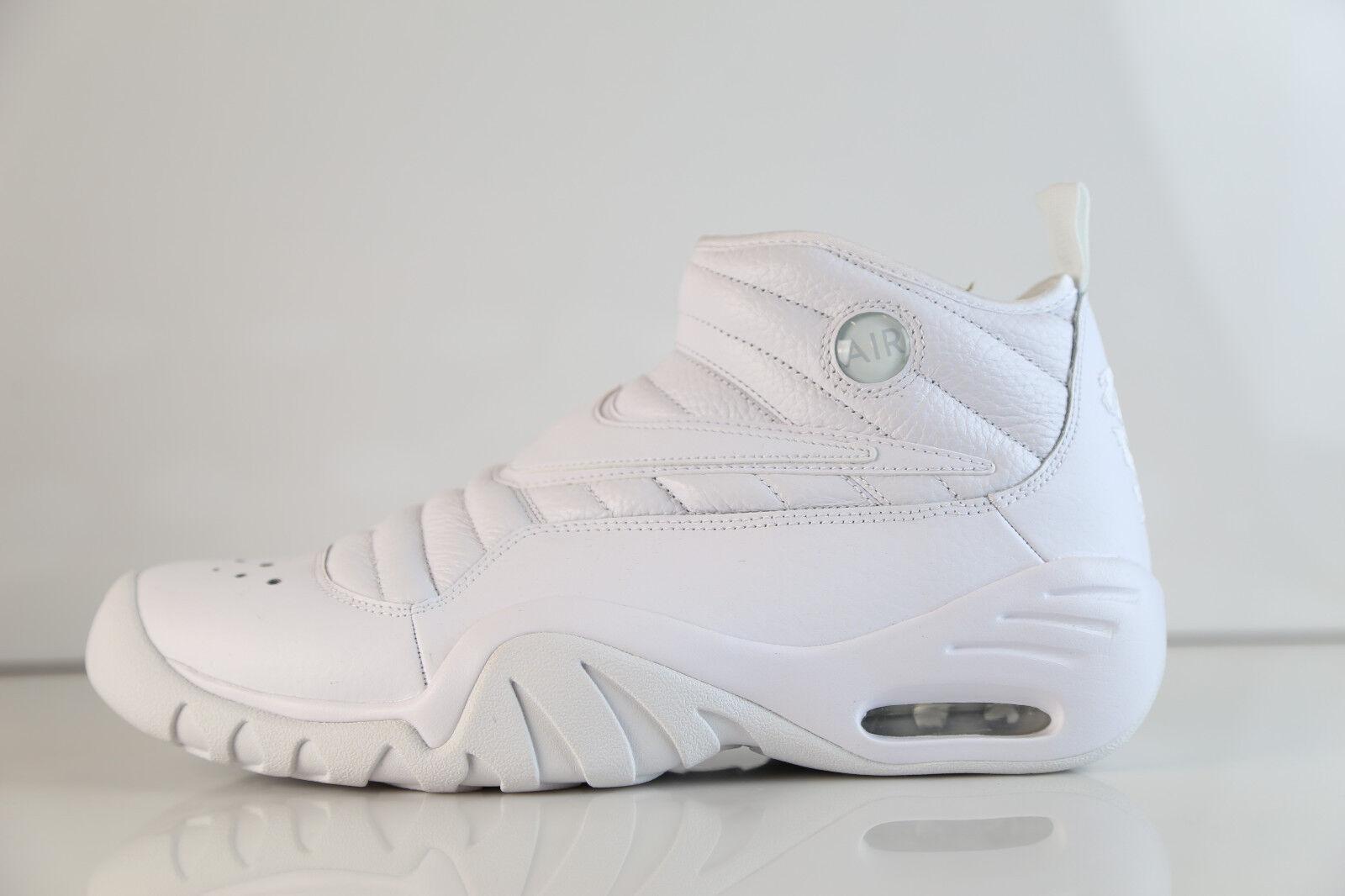 Nike Air Shake NDestrukt White White 880869-101 8-14 triple 1 max 3