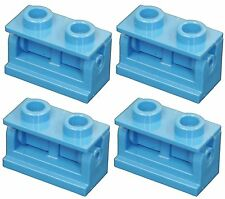 Missing Lego Brick 3937 & 3978 Blue x 4 Hinge 1 x 2 Base & Hinge 1 x 2 Top