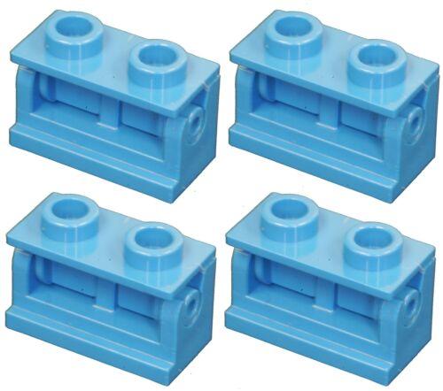 Missing Lego Brick 3937 /& 3978 Blue x 4 Hinge 1 x 2 Base /& Hinge 1 x 2 Top