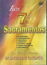 Los 7 Sacramentos DVD -Dr Manuel Alvarez Ex-sacerdote Catolico New Spanish