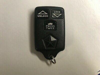 OEM Chrysler Concorde new yorker Keyless Entry Remote 04688527 GQ43VT5T Key Fob