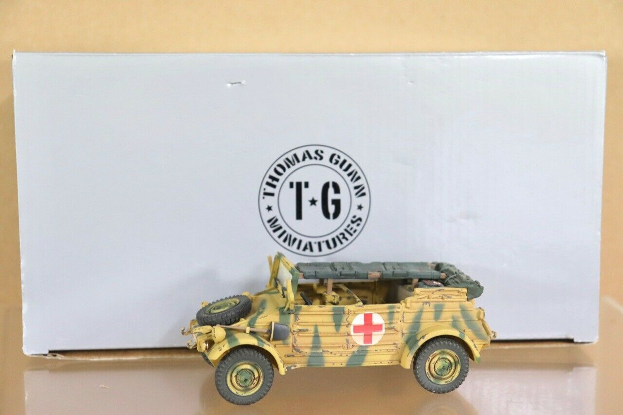 THOMAS GUNN SS023 WWII GERMAN VOLKSWAGEN MEDICAL KUBELWAGEN KUBELWAGEN A BOXED nu