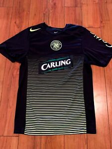 Details about NEW Nike Celtic Football Club Soccer Jersey Men's Size Small Black Perforated