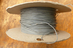Silver-Plated-Copper-PTFE-Wire-Cable-23AWG-0-7MM-Gray-HQ-10-meters