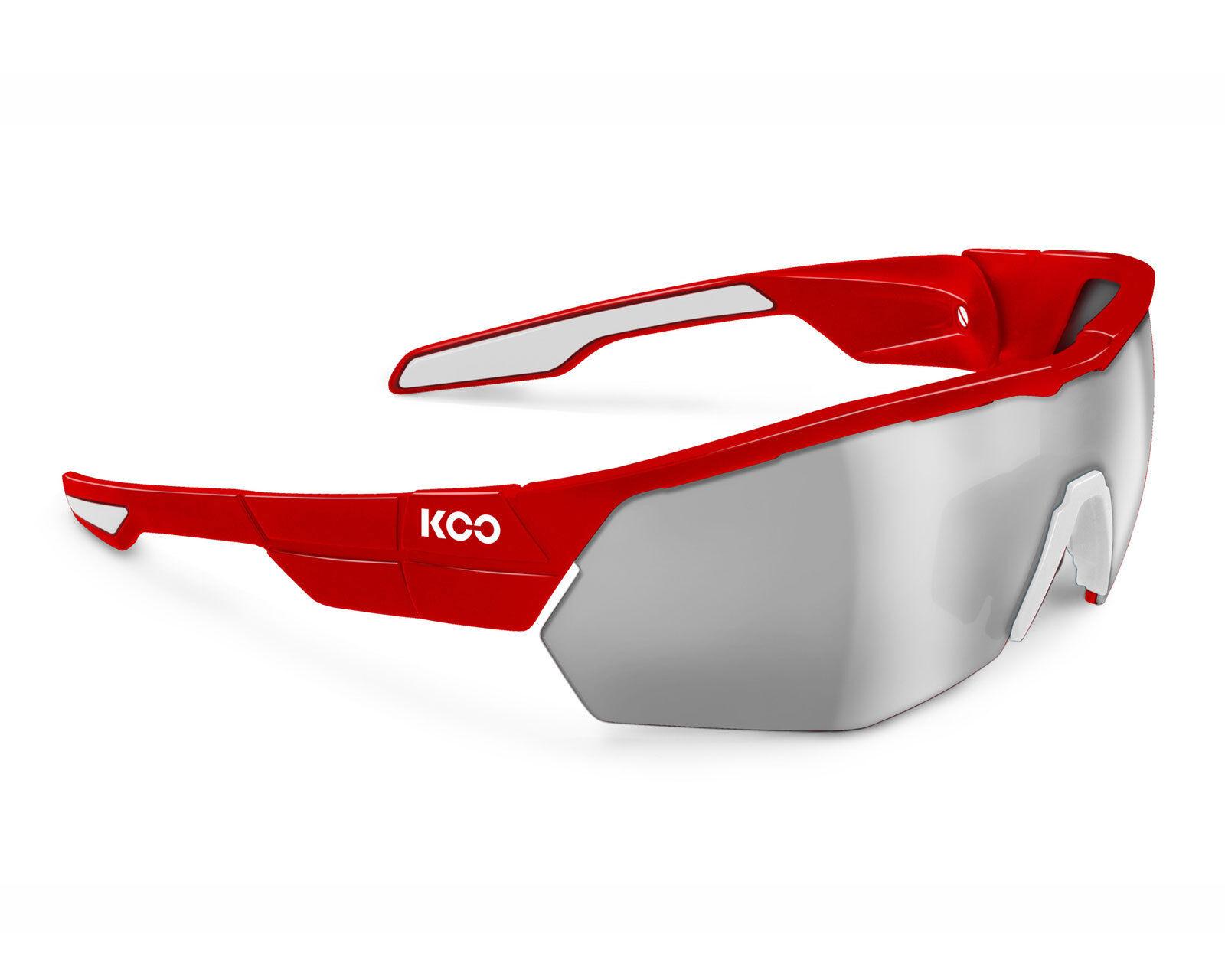 KOO OPEN CUBE Sunglasses Asian Fit - rouge
