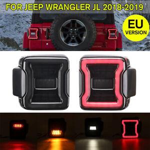 Luz-Trasera-Para-Jeep-Wrangler-Jl-2018-2019-Eu-Version-LED-Lamparas
