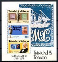Trinidad & Tobago 1979 SG#MS554w Sir Rowland Hill MNH M/S #A32328