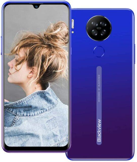 """débloqué 4G Blackview A80 6,21"""" Android 10 2+16Go Dual SIM Téléphone Smartphone"""