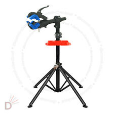 Home Mechanic Folding Bicycle Bike Maintenance Repair Work Blue Stand Rack UKDC