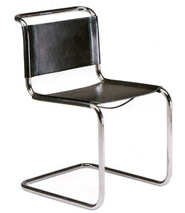 Mart stam chair bauhaus 1926 made in italy ebay for Bauhaus stuhle nachbau