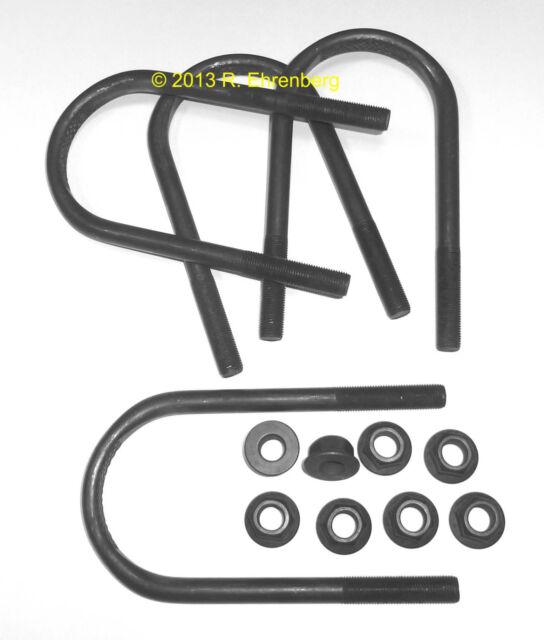 ██ NOS Mopar E-Body Rear Axle U-BOLT Set 8¾ Dana Dodge Challenger Plymouth 'Cuda