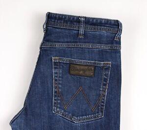 Wrangler-Hommes-Arizona-Stretch-Slim-Jeans-Jambe-Droite-Taille-W33-L32-ATZ1376