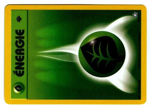 POKEMON NEO GENESIS 1ed N° 108//111 ENERGIE PLANTE