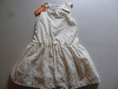 Gymboree Joyful Holiday Silver Bow Duppioni Dress Christmas Formal Size 3 NEW