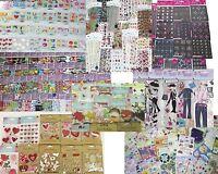 HUGE 144 Packages Scrapbooking Stickers Jolee's Boutique,K&Co,Disney,Momenta ++