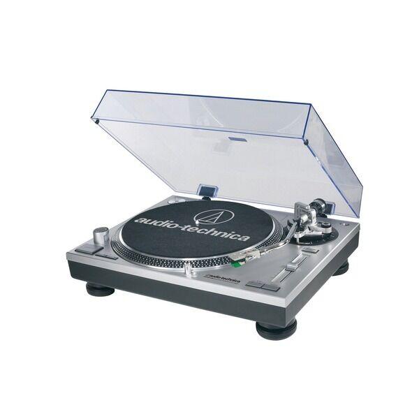 AUDIO TECHNICA AT-LP120 USB PC direct drive turntable DJ HI-FI LETTORE Deck