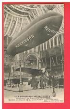 CPA  - PARIS - 75 - SALON DE LA LOCOMOTION - 1911 - DIRIGEABLE ASTRA  HUTCHINSON