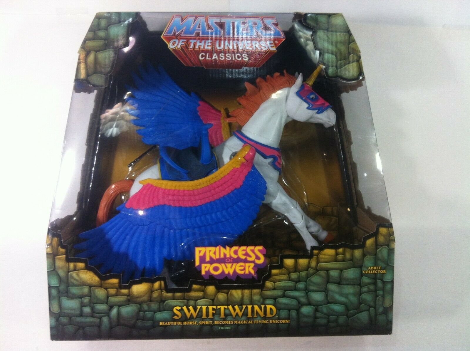 HeMan Masters of the Universe Classics Classics Classics Exclusive Action Figure Swiftwind c88b7b