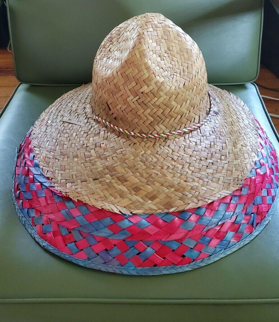 Summer Boho Hand Woven Straw Hat  - image 2