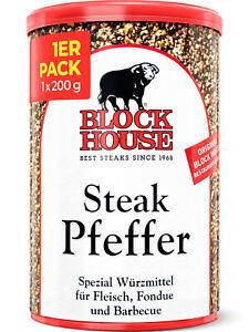 Blocco House bistecca Pepe miscela di spezie 200g – bistecca Pepe per bistecche & verdure