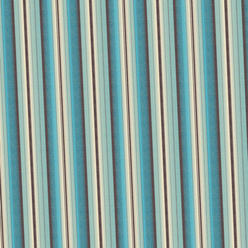 Dolls House Wallpaper 1//12th 1//24th scale Blue Stripe Quality Paper #260