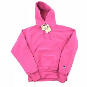 0e29f7bac NWT Champion Reverse Weave Hoodie Women's XS Pink Pigment Dyed ...
