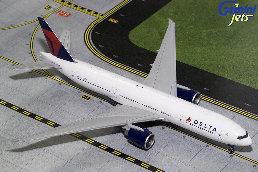 Gemini jets de Delta Airlines Boeing 777-200LR 1 200 DIE-CAST G2DAL625 En Stock