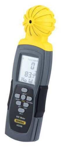GENERAL TOOLS VOC08 Data Logging VOC Meter,2-13//32in.Wx1in.D
