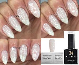 Bluesky White Diamond Multi White Silver Glitter Nail Gel Polish Uvled Soakoff Ebay