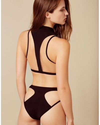 Marlene Wet 4 Agent breve Black e Ap Look Provocateur Taglia Reggiseno Bikini set B5wxO5fgq