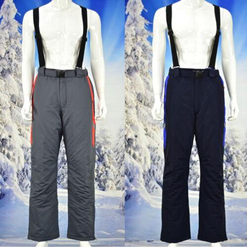 Winterhose Hommes Pantalon De Ski Thermique Pantalon Latzhose Schneehose Snowboard l-4xl PM