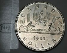 Canada 1983 Proof Like Voyageur Nickel Dollar!!