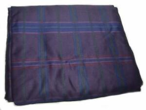 RALPH-LAUREN-Rutherford-Park-Purple-Plaid-TWIN-FITTED-SHEET-NEW-COTTON
