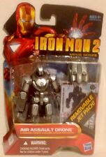 """Iron Man 2, Number 17 Action Figure of AIR ASSAULT DRONE 3.75"""" Tall Movie Series"""