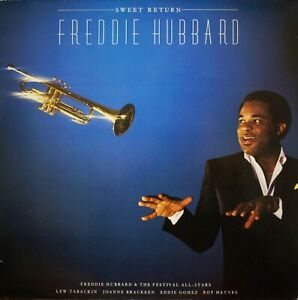 Freddie-Hubbard-Sweet-Return-jazz-LP-Atlantic-78-0108-1-Germany-EX