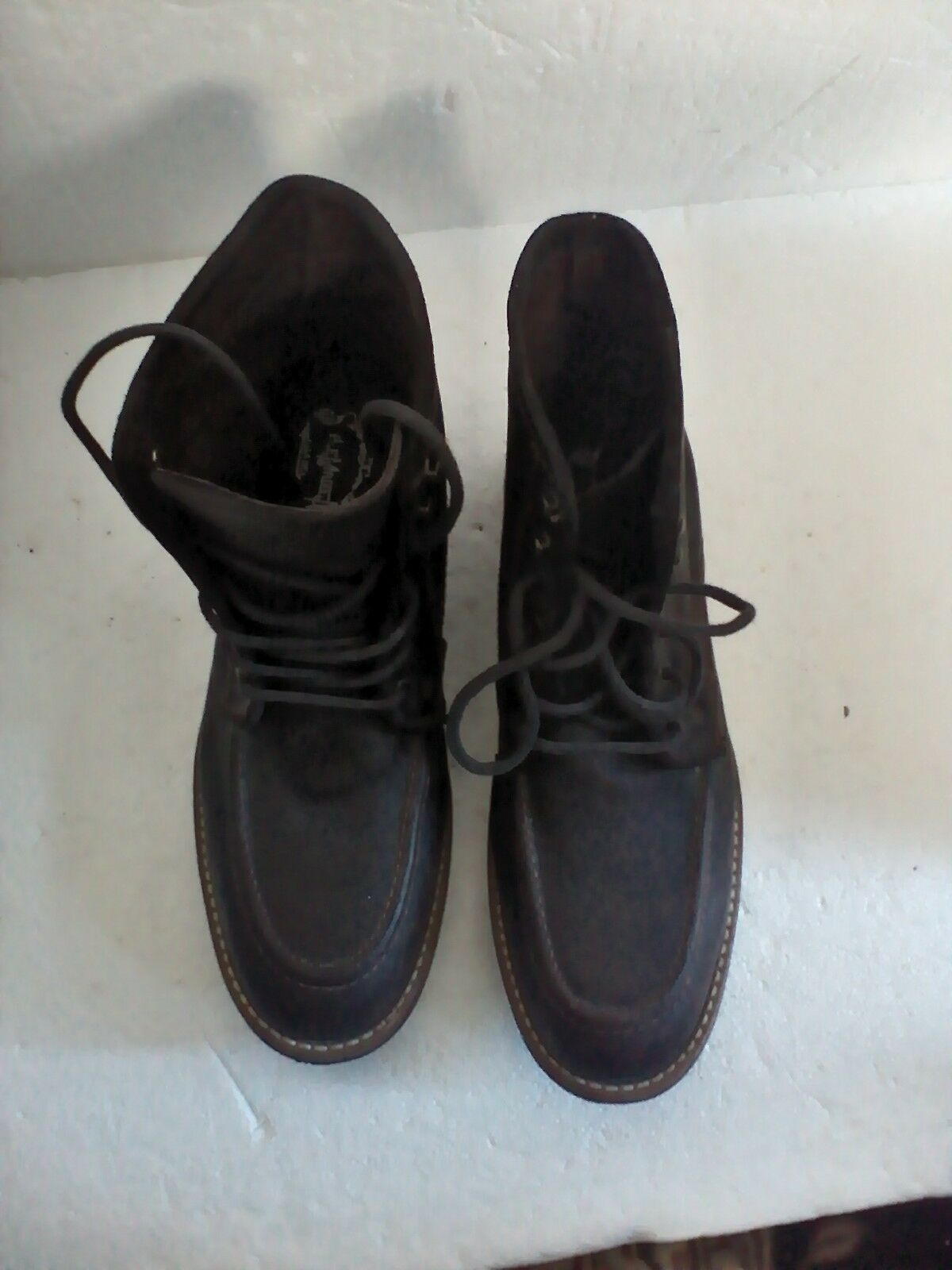 STEVE MADDEN BOOTS MEN'S NEWBURGH SIZE ANKLE 12 D BROWN ABOVE ANKLE SIZE BOOT 4e07d3